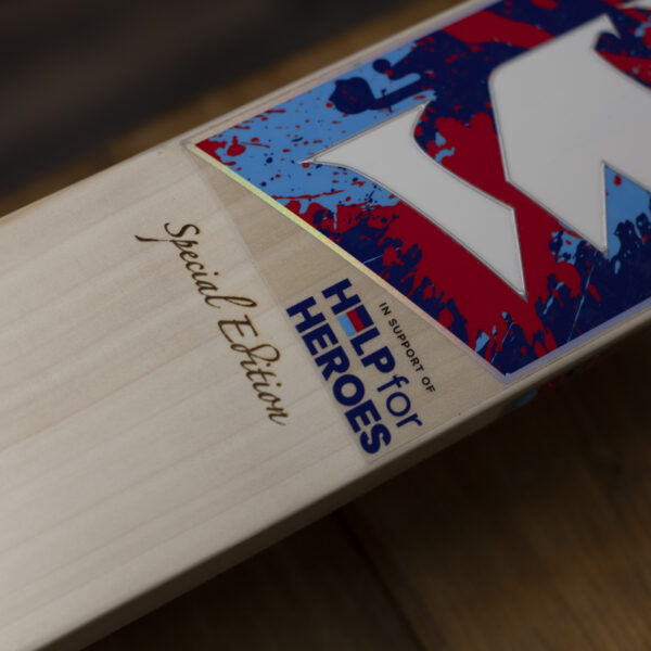 Help For Heroes Special Edition Cricket Bat