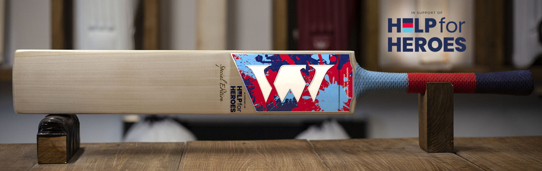 Help for Heroes Special Edition bat